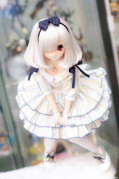Nyakio's Dolls Pretty Dolls, Beautiful Dolls, Anime Chibi, Kawaii Anime, Memes Arte, Kawaii Doll, Anime Figurines, Dream Doll, Smart Doll