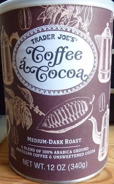 Check out our review of Trader Joe's Coffee á Cocoa!
