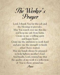 Resultado de imagen para prayer for workplace Prayer Times, Prayer Scriptures, Bible Prayers, Catholic Prayers, Faith Prayer, God Prayer, Power Of Prayer, Prayer Quotes, Healing Prayer