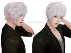 Found in TSR Category 'Sims 4 Male Hairstyles' Sims 4 Hair Male, Sims Hair, Anime Hairstyles Male, Boy Hairstyles, Sims 4 Cc Skin, Sims Cc, Sims 4 Anime, Pelo Sims, Anime Boy Hair