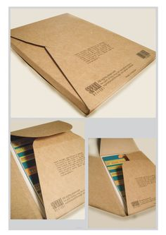 Discover more of the best Package, Type, Postcards, Behance, and Packaging inspiration on Designspiration Paper Packaging, Print Packaging, Packaging Design, Book Packaging, Envelope Kraft, Envelope Design, Web Design Quotes, Buch Design, Folder Design