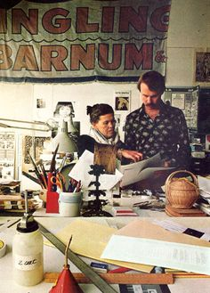 A Few Shots From the Offices of Ray and Charles Eames