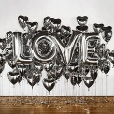 These metallic letters balloons are great for: photoshoots weddings bridal showers baby showers birthday parties gender reveals photo backdrop and much more! Easy enough to inflate yourself with a regular drinking straw, or have them professionally inflated with helium if you need them to float! The balloons all have a self-sealing valve. The balloons are reusable! Just insert a straw into the valve and squeeze the air out of the balloons, fold them up and store them away from direct…