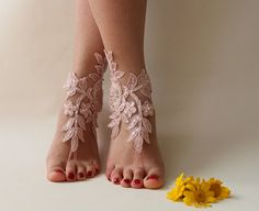 Free Ship Blush Pink Beaded Beach Wedding Barefoot Sandals Wedding Shoe Barefoot Sandals Prom Party Bridal Bangle Beach Anklets Bridesmaid wedding aesthetic This item is unavailable Barefoot Sandals Wedding, Bridal Sandals, Bridal Bangles, Pink Prom Shoes, Pink Wedding Shoes, Bare Foot Sandals, Pink Sandals, Shoes Sandals, Heels