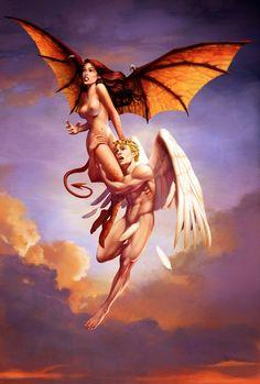 Ángel y demonio, por Javier Alcalde
