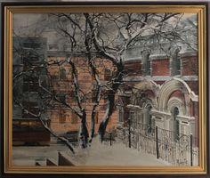 Владивосток старый город, здание Почтамта
