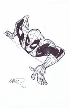 Spider-man by Humberto Ramos (@SDCC2010)