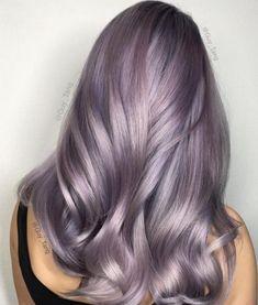 20 Ways to Wear Violet Hair Grunge Hair hair violet Ways wear Lavender Hair Colors, Hair Color Purple, Cool Hair Color, Hair Colours, Silver Lavender Hair, Metallic Hair Color, Silver Color, Guy Tang Metallic, Purple Ombre