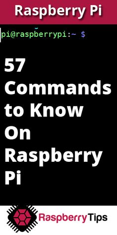 57 commands you should know on Raspberry Pi - CODES&HACKS&PROGRAMMING 57 commands you should know on Raspberry Pi Starting on Raspberry Pi is not always easy. In this tutorial, you'll learn 57 commands you'll need to know to enjoy your Raspberry Pi - Raspberry Computer, Linux Raspberry Pi, Rasberry Pi, Arduino Projects, Electronics Projects, Circuit Projects, Diy Electronics, Cool Raspberry Pi Projects, Arduino Programming
