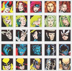 50 Years of X-Men Character Evolutions  Art by: Multiple Artist  During the past 50 years one thing remains the same about the X-men… they have constantly evolved!