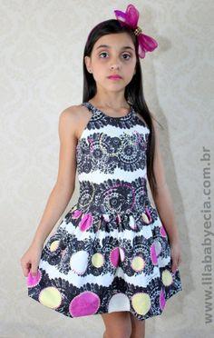 Vestido Infantil Diforini Moda Infanto Juvenil 010767