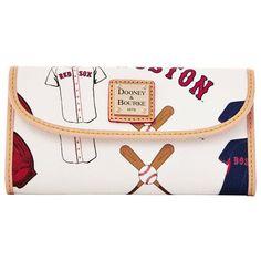 Women's Boston Red Sox Dooney & Bourke Continental Clutch | MLB.com Shop