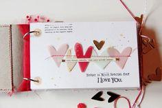 Happy Valentine's day mini album by lory at @studio_calico