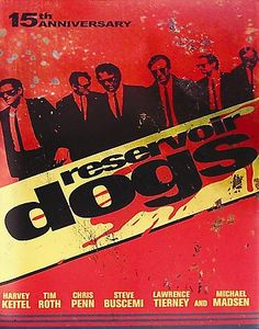 Reservoir Dogs [PN1995.9.G3 R474 2006] After a simple jewelery heist goes terribly wrong, the surviving criminals begin to suspect that one of them is a police informant. Director:Quentin Tarantino   Writers:Quentin Tarantino, Roger Avary (background radio dialog),Stars:Harvey Keitel, Tim Roth, Michael Madsen
