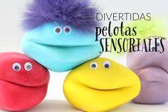 Fun sensory balls for kids para niños 4 Kids, Diy For Kids, Baby Kids, Crafts For Kids, Children, Baby Center, Art Party, Sensory Play, Toddler Preschool