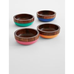 wooden bowl set from Red Envelope on Catalog Spree
