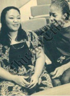 Good Friends Yolanda King and Attallah Shabazz