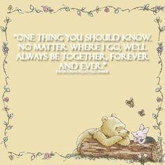 I ❤ Disney Quotes..Kayla loves Pooh....