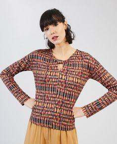 Longues T Imprimé Surkana Manches Shirt 7wXZnEX