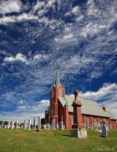 St. Columba Church by corporallouis, via Flickr Iona  Cape Breton