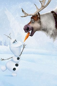 Disney Frozen Sven and Olaf Your very own Sven can join your Frozen Party from www.luxlykreindeer.co.uk or follow us on Facebook/Luxlyk Reindeer Hire