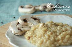 Easy to make Mushroom Risotto Recipe