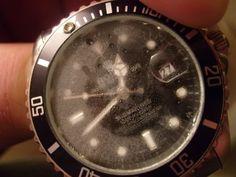 cara menghilangkan embun pada jam tangan