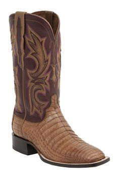 georgetowncowboyboots - Lucchese Since 1883 Mens Western Shiloh Tan Caiman Belly M2679, $725.00 (http://www.georgetowncowboyboots.com/lucchese-since-1883-mens-western-shiloh-tan-caiman-belly-m2679/)
