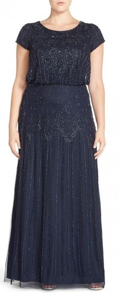 Sizes 4 ADRIANNA PAPELL Belted Lace Peplum Gown NEW With Tag 10
