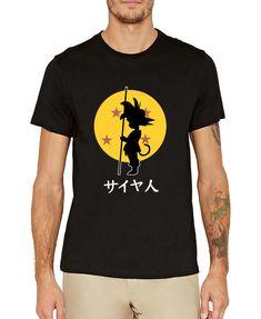 906476605 t-shirt for men 2017 SON Goku Super saiyan funny camisetas anime DRAGON  BALL men streetwear tops tee short sleeve brand clothing - free shipping  worldwide
