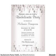 Bachelorette Party | Subtle Silver