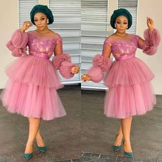 Latest Nigerian Lace Styles and Designs-Volume 7 Nigerian Lace Styles, Aso Ebi Lace Styles, Lace Gown Styles, African Lace Styles, Ankara Gown Styles, Short African Dresses, Latest African Fashion Dresses, African Print Fashion, African Prints