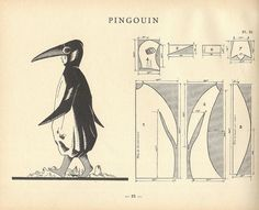 """PINGOUIN"" costumons nous p62 by pilllpat (agence eureka), via Flickr"