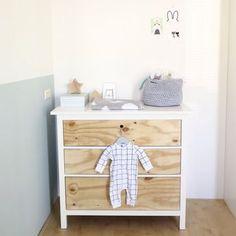 Underlayment commode | IKEA hack | Nursery | How to on our website | Stek Magazine | Idea & styling: José Russchen