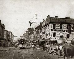 Fourth Street, St Louis, 1875