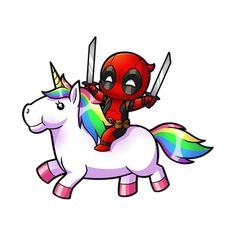 Discover the coolest #deadpool #unicorn #unicornio #picsart #creative #love #tumblr #criança  #wallpaper#wallpaperbyme #like stickers