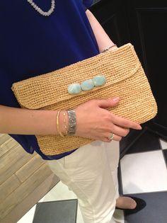 Crochet Clutch, Knit Crochet, Fibres, Knitted Bags, Crochet Accessories, Hemp, Clutch Bag, Crochet Projects, Straw Bag