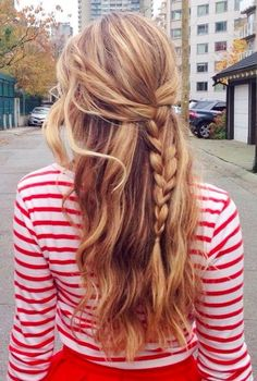 10 Quick and Simple Daily Hairstyles for long Hair | Styles Of Living