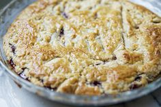 Muscadine Hull Pie~old Southern favorite, a tart, sweet, rich filling in a buttery crust.
