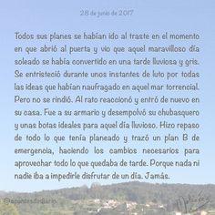 28 de junio de 2017 : #MicrocuentoZ #: #lluvia #día #sol #plan #microcuento #microcuentos #microcuentos2017 #microrrelato  #apuntesdediario #cuento #breve #literatura #relato #texto #text #artistsoninstagram  #junio #june #201706 #mediodia #noon #cielo #blue #azul