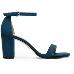 Stuart Weitzman NEARLYNUDE (26.935 RUB) ❤ liked on Polyvore featuring shoes, sandals, blue suede, suede aqua, blue sandals, aqua sandals, aqua shoes, suede shoes and aqua blue shoes
