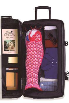 DOIY Koinobori Laundry Bag Wäschesack NEU/OVP Reisewäschesack Travel NEW Rot Red