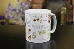 Bloggers gonna blog. La taza más chula para bloggers.