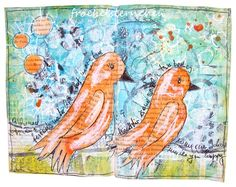 froebelsternchen: Collage with Journaling - ART JOURNAL JOURNEY