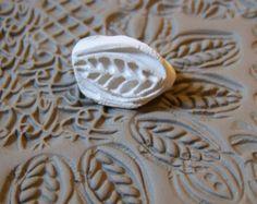Tampons en argile à la main pour la poterie, pâte polymère, PMC, fondant et plus... Outils en argile, poterie Texture outil, timbres pour le bricolage et tous vos métiers
