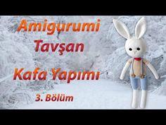 Amigurumi Tavşan Örme Bölüm 1  - Büyük Tavşan Bacak Nasıl Örülür  - YouTube