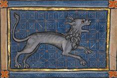 A Hyena, Bestiary ca. 1270