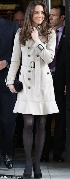 I am absolutely in love with Kate Middleton and her style is stunning!