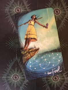 Featured Card of the Day - The Fool - Lightseer's Tarot by Chris-Anne Donnelly Tarot The Fool, Tarot By Cecelia, Nine Of Wands, Card Drawing, Archangel Michael, Daily Drawing, Oracle Cards, Tarot Decks, Archetypes