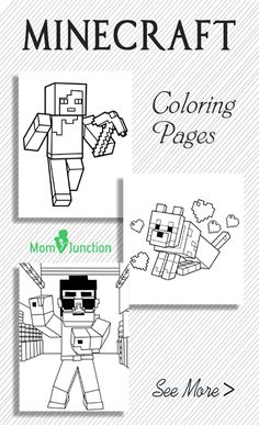 Looking for minecraft coloring pages? Yes, we are here to help you! Here's our free printable coloring pages for kids to get your little geek started. Read on